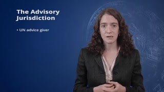 2.3 Advisory Options of the International Court of Justice