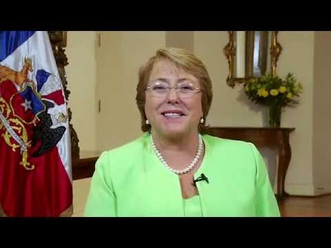 Video Message by Michelle Bachelet, President of Chile, at the WIP Summit 2015