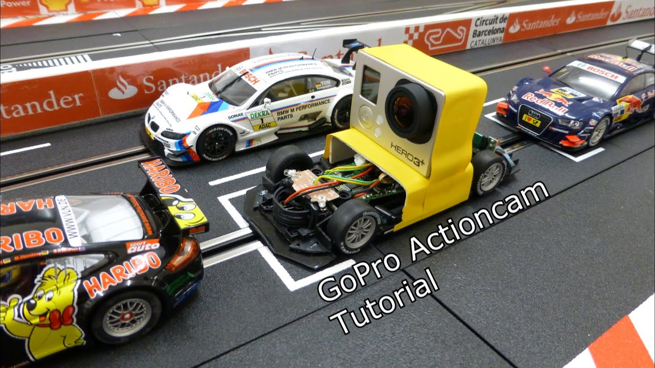 gopro actioncam slotcar einfach und schnell selber bauen tutorial carrera digital 132. Black Bedroom Furniture Sets. Home Design Ideas