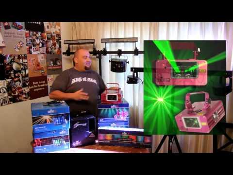Mobile DJ Light Show on a Budget by Tah-Dah Productions & DJ RYan