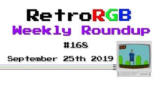 RetroRGB Weekly Roundup #168 - September 25th 2019