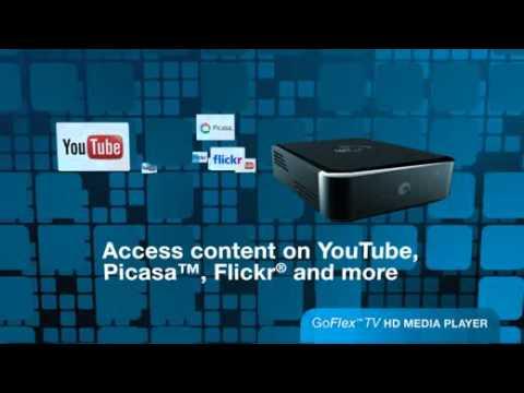 Seagate FreeAgent GoFlex TV Media Player Video