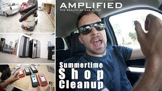 Summertime Shop Cleanup  and a Look at the SMD AMM-1 and DD-1+
