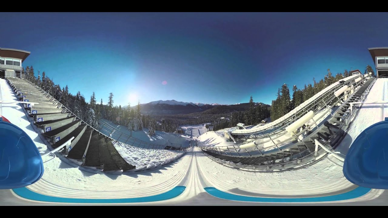 Samsung Ski Jump in 360° Commercial