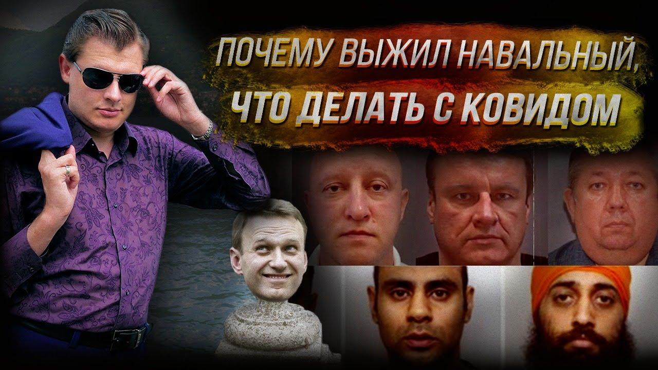 Стрим Понасенкова: почему выжил Навальный, что делать с ковидом, 2021 год