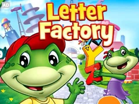 letter factory dvd letter recognition learning videos