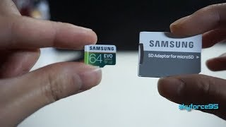 Samsung MicroSD EVO Select Memory Card with Adapter Review