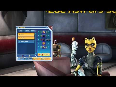 Star Wars: Clone Wars Adventures -  Female Zabrak Character Customization