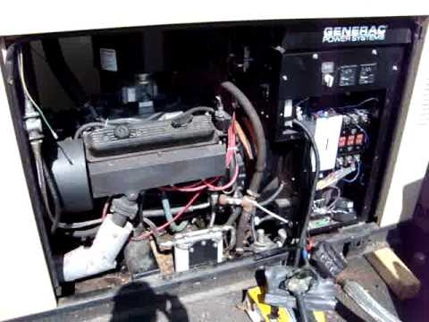 used generac 50 kw prime rated natural gas generator set. Black Bedroom Furniture Sets. Home Design Ideas