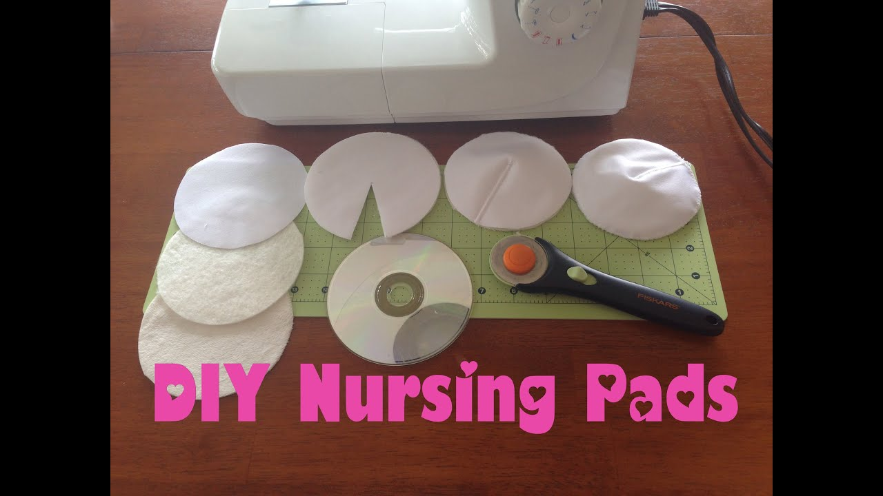 Make your own breast pads