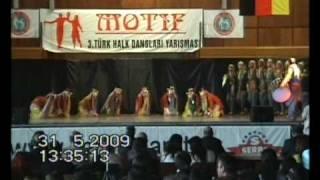 Elif Keskin Motif Halk Oyunlari Yarismasi - Antep Yöresi