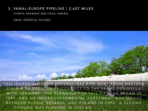 Carl Nelson France  - The Top 5 Longest Pipelines