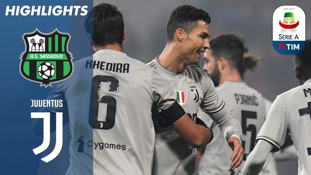 Sassuolo 0-3 Juventus | Ronaldo on Target as Champions Go 11 Points Clear | Serie A #1
