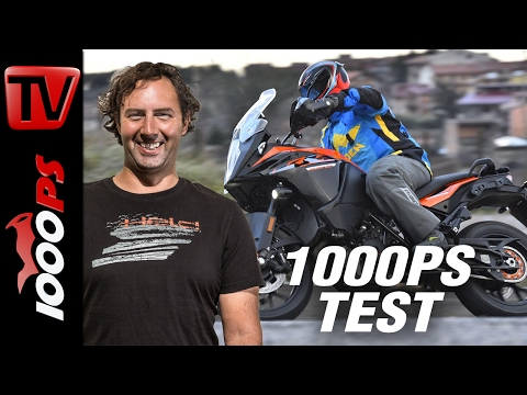 1000PS Test - KTM 1090 Adventure 2017