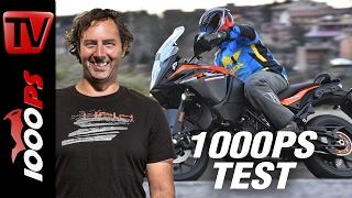 1000PS Test - KTM 1090 Adventure 2017