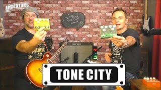 Tone City Pedals - Dual Button Guitar Pedals - Big Tone, Little Price!
