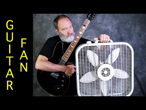 Ambient Guitar Soundscape With A Window Fan: Do It!