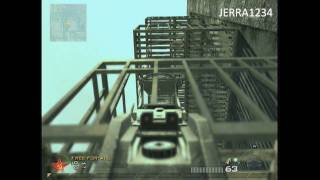 call of duty mw2 skidrow elevator jump and out of map tutorial