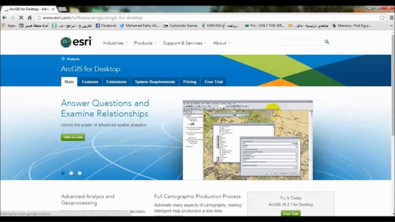 Desktop Help - ArcGIS tutorials