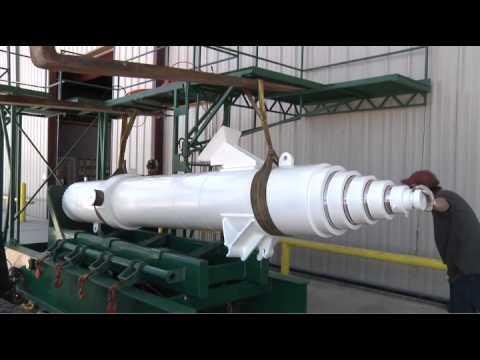 Vertical Hydraulic Cylinder Tester - Diamond Hydraulics 409.986.3957