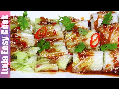 CHINESE CABBAGE RECIPE CABBAGE SALAD SWEET AND SOUR SAUCE