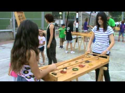 Egur Jokoak Juegos De Madera Ugarteko Jaiak San Juan 2014