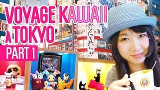 Voyage kawaii à Tokyo [part1] - Carte Suica, Kiddyland, Character Street