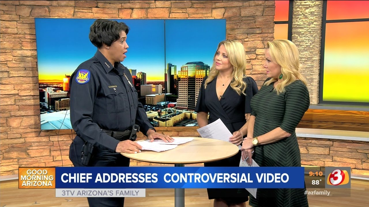 Phoenix Police Chief Jeri Williams: 5 Fast Facts You Need to Know