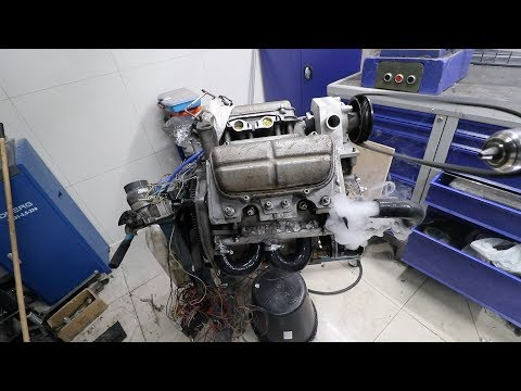 Инжекторный двигатель на Заз 968. Часть 8 (разводка водяного охлаждения)
