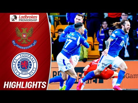 St. Johnstone Rangers Goals And Highlights