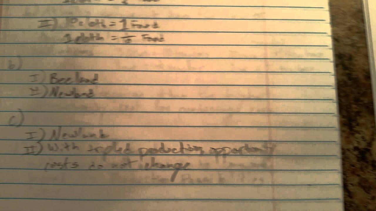 2004 AP Macroeconomics Form B Free Response #3 - YouTube