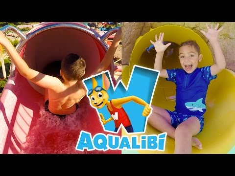VLOG - Parc Aquatique AQUALIBI, Stands de Jeux & Shopping - 2/2