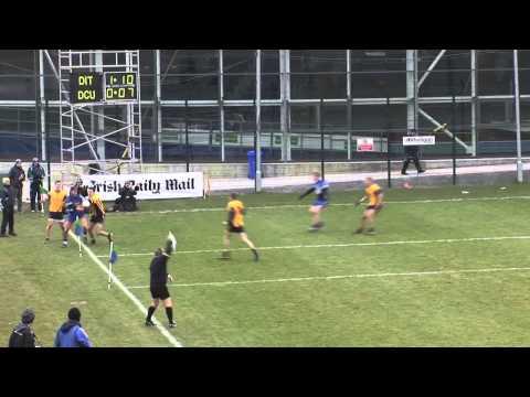 Irish Daily Mail HE GAA Sigerson Cup 2013 DCU v DIT Aidan O'Shea Compilation