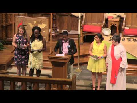 Global Mission Fellow Service of Commissioning 2017