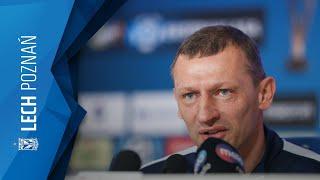 Konferencja prasowa przed meczem z Cracovią
