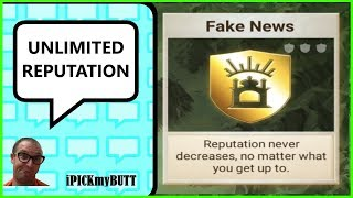 Rebel Inc - Unlimited Reputation [Cheat] Fake News