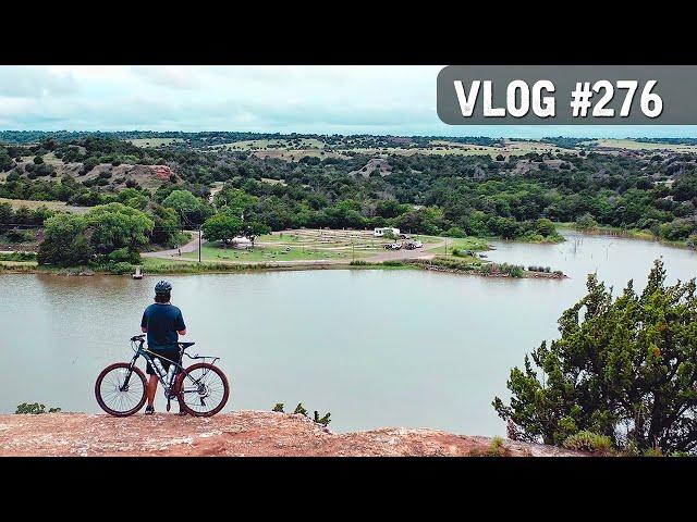 VLOG #276 / Mountain Biking ROMAN NOSE with DRONE Footage! / July 21, 2020