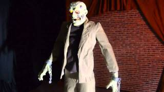 Video Corpse Re-Animated Halloween animated prop for haunted house use. download MP3, 3GP, MP4, WEBM, AVI, FLV November 2017