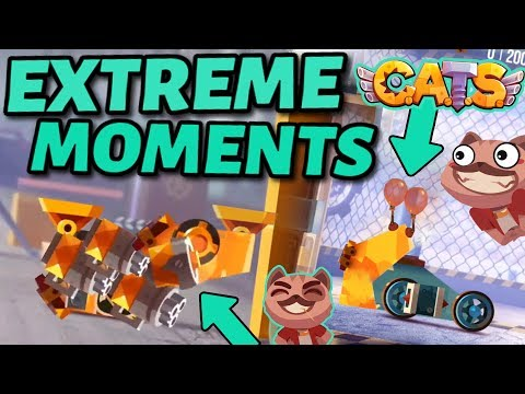 C.A.T.S EXTREME BATTLES & EPIC FIGHTS - Funny Moments Crash Arena Turbo Stars