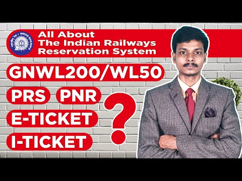 All About The Indian Railways Reservation System Part-1 [Hindi]