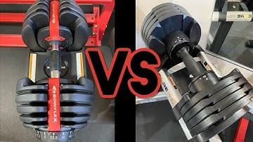 CORE HOME FITNESS VS BOWFLEX 552 SELECTTECH - Best Adjustable Dumbbells for Home Gym Comparison