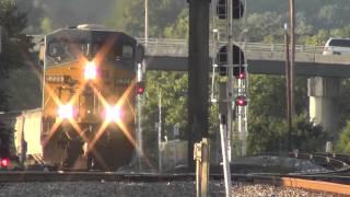 CSX Q 583 SB at Dalton GA  9 13 2014