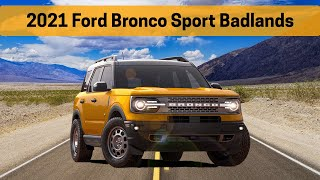 Learn everything about the 2021 Ford Bronco Sport Badlands | Bronco Sport Features, Sync3 and more!