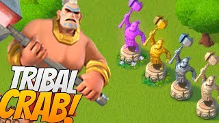 TRIBAL MEGA CRAB SNEAK PEEK! Boom Beach Warrior Mega Crab Event!