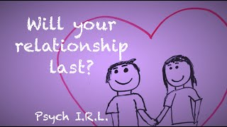 Will Your Relationship Last?