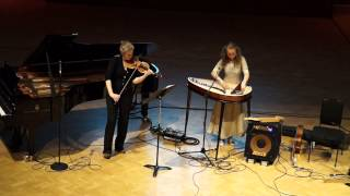 Viola Uotila/kantele Sarah Quinn/violin Jean Sibelius Cantique Op. 77/1  LSO Discovery Day St Luke`s