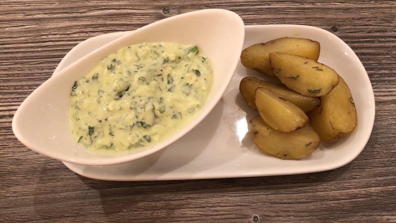 Barlauch Dip Mit Ei Kenwood Cooking Chef Gourmet Youtube