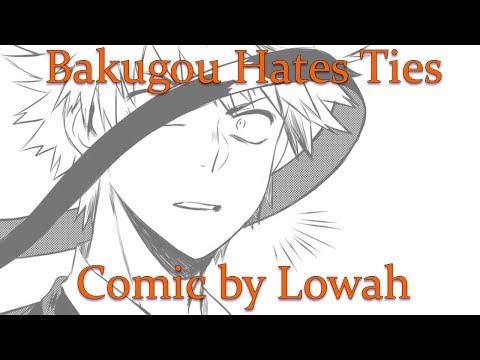 Bakugou Hates Ties (MHA Comic Dub)