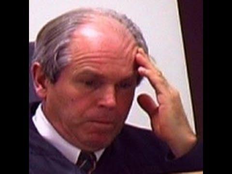 Judge bans facial expressions?