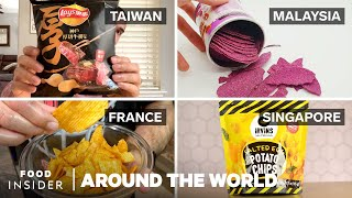 Potato Chip Flavors Around The World